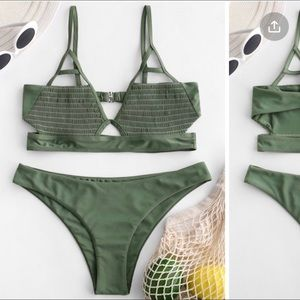 Olive Green Bikini